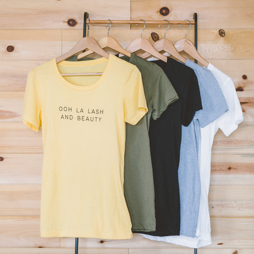 Ooh La Lash and Beauty Stylish Tshirts
