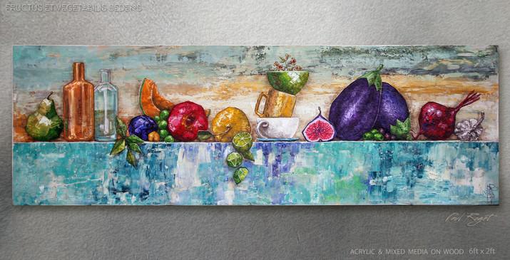 Fructus et Vegetabilis Sedens - PAUL A R