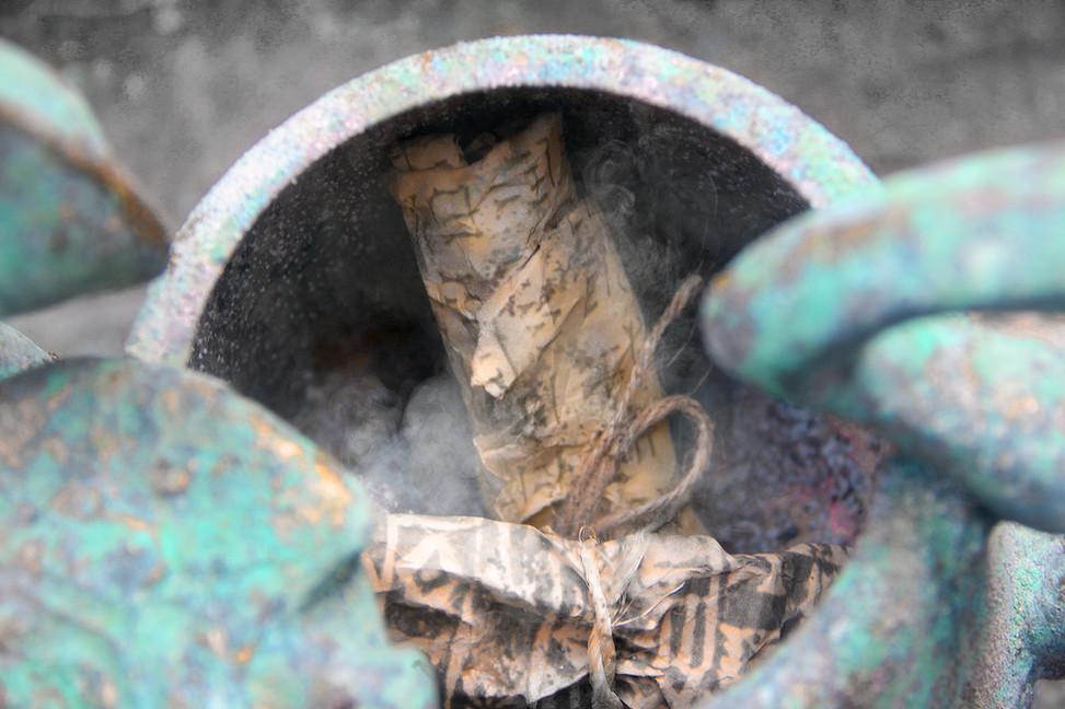 the Urn of Larsyna - the reign of King Sin-Iddinam - scrolls - c. 1848 BC.jpg