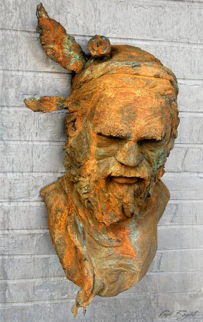 Man-Joogoordap above sculpture Paul Roget.jpg