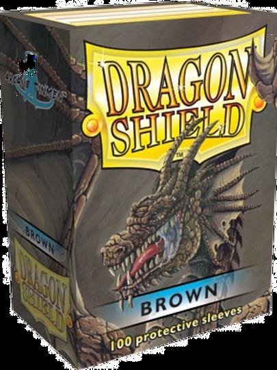 Dragon Shield Standard 100 ct Gloss Brown
