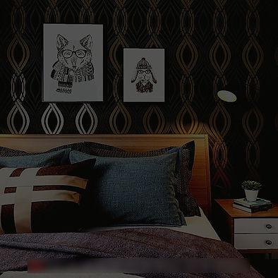 Black-Grey-Gold-Geometric-Wallpaper-Mode
