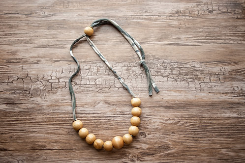 Abstract Neutral Necklace