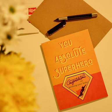 You Absolute Superhero [5x7]