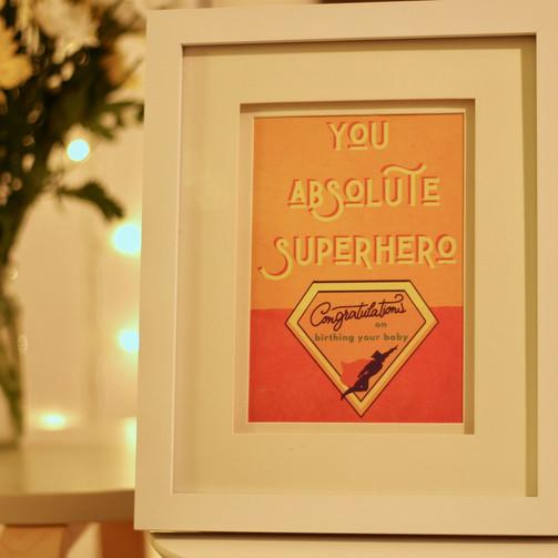 you absolute superhero