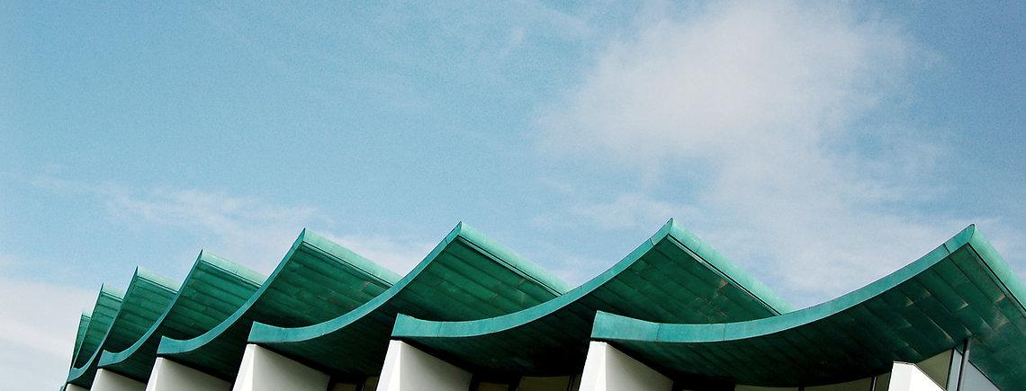 Verdrehte Dachstuhl