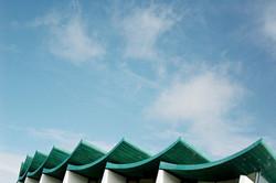 Structure de toit torsadé
