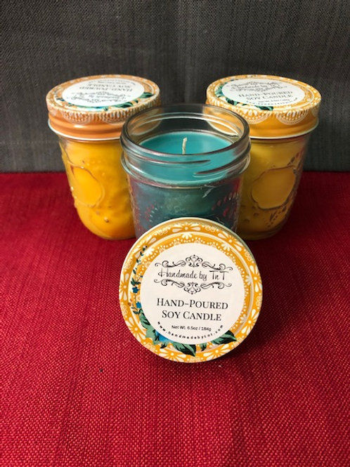 100% Soy Candles - 6.5oz