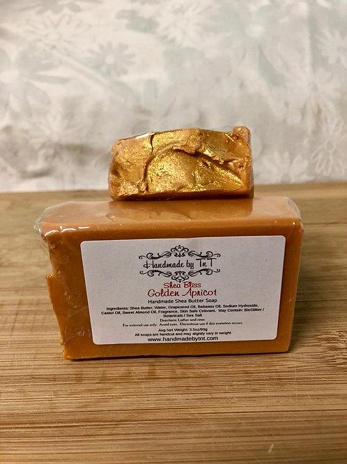 Golden Apricot Shea Bliss Artisan Soap