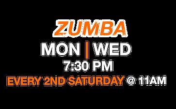 Class Schedule - Fuel Fitness - Zumba.pn