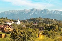 18a Bucegi Mountain Magura Village