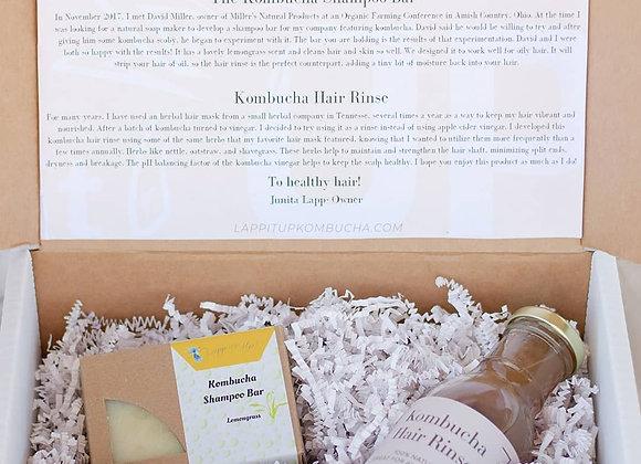 Kombucha Hair Care Set