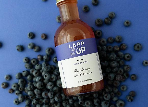 Blueberry Cardamom Kombucha 6 pack