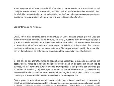 """15vo cuento preseleccionado: """"La historia de Juanita"""" por Juana Saavedra de Urumita."""