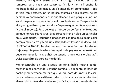"10mo cuento preseleccionado: ""Déjà vu"" por Samuel Garizao"