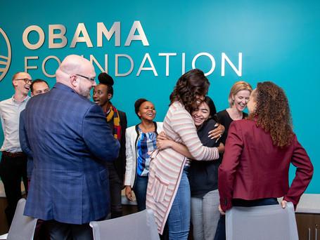 Obama foundation nos selecciona entre los mejores programas sociales en todo el mundo