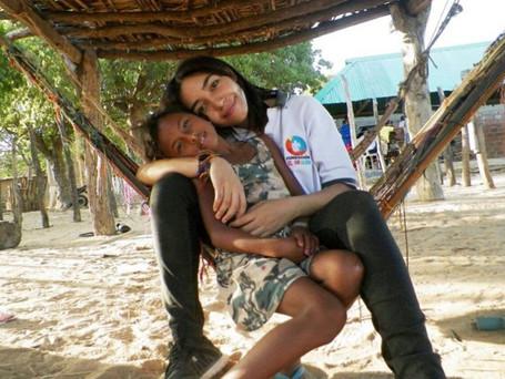 Joven guajira viajará a la India para socializar proyectos de comunidades infantiles Wayúu
