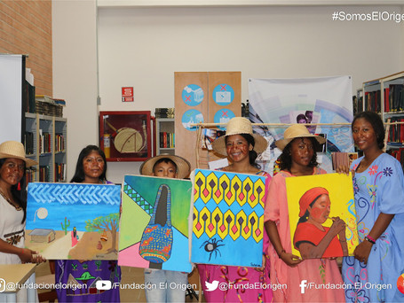 Our students presented their first art exhibition to promote preservation of the Wayuu people