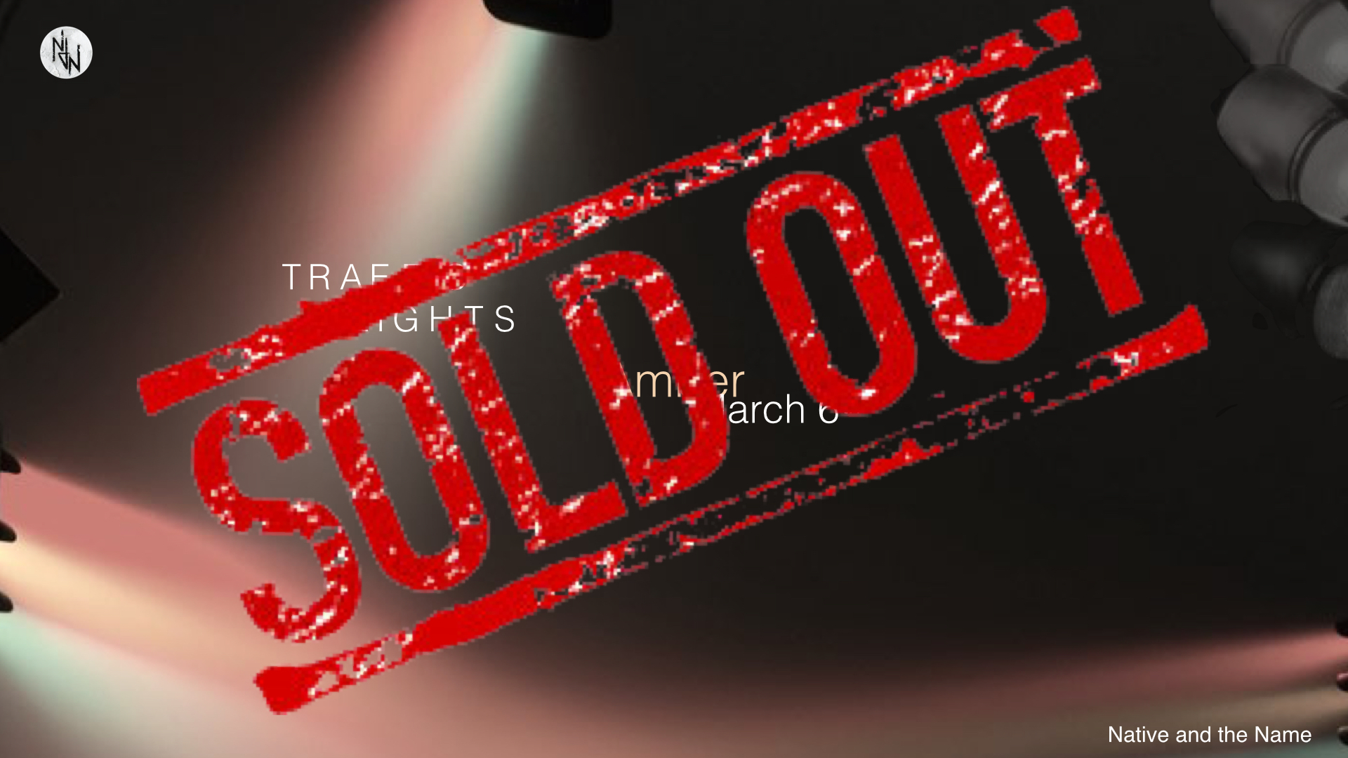 Amber March 6th 2015 Sold Out