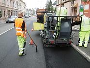 Řádné opravy městských komunikací ve Frýdku-Místku
