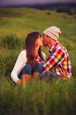 Kissing in the Meadow