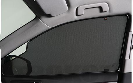 Автошторки Trokot на передние окна с вырезом для курения