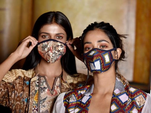 Face masks, a responsible fashion statement