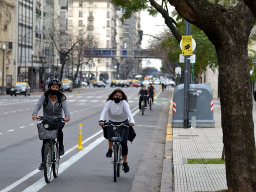 Buenos Aires promotes gender equality with bicycles