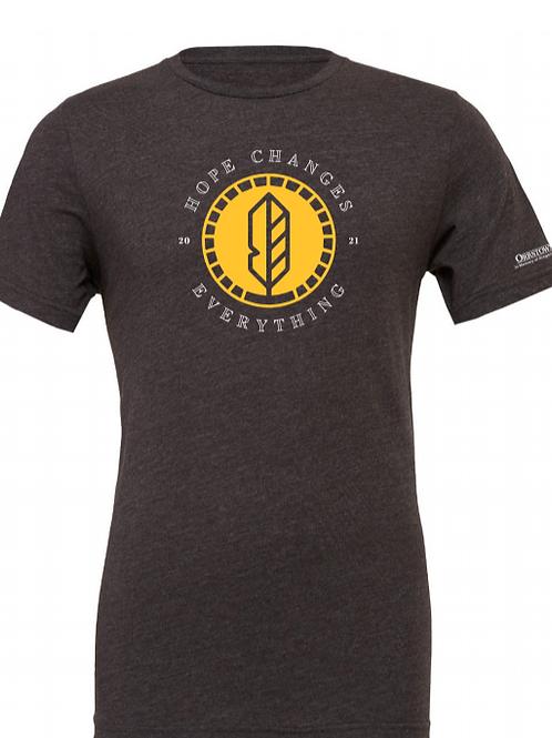 Adult Gray Radiant Hope 2021 T-Shirt