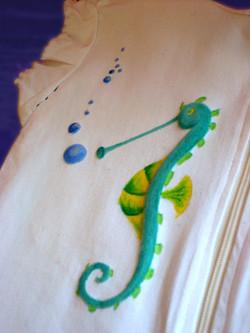 Acrylics on Fabric