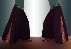 sewing - zip culotte
