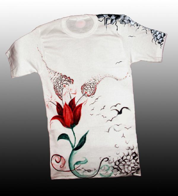 Acrylic on Fabric