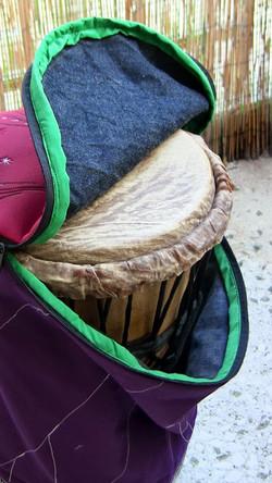 sewing - djembe case