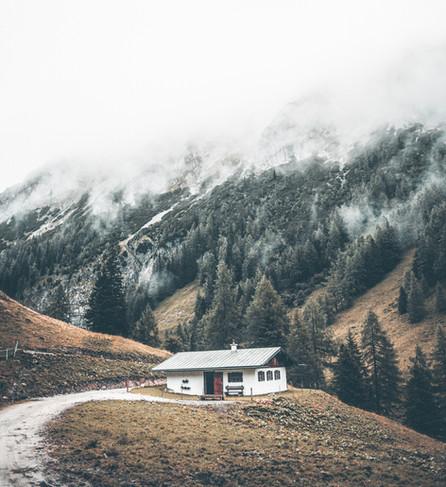 Les maisons simples et épurées