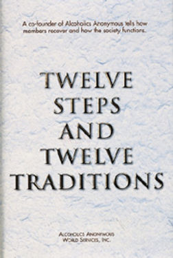 12x12 Twelve steps and Twelve traditions