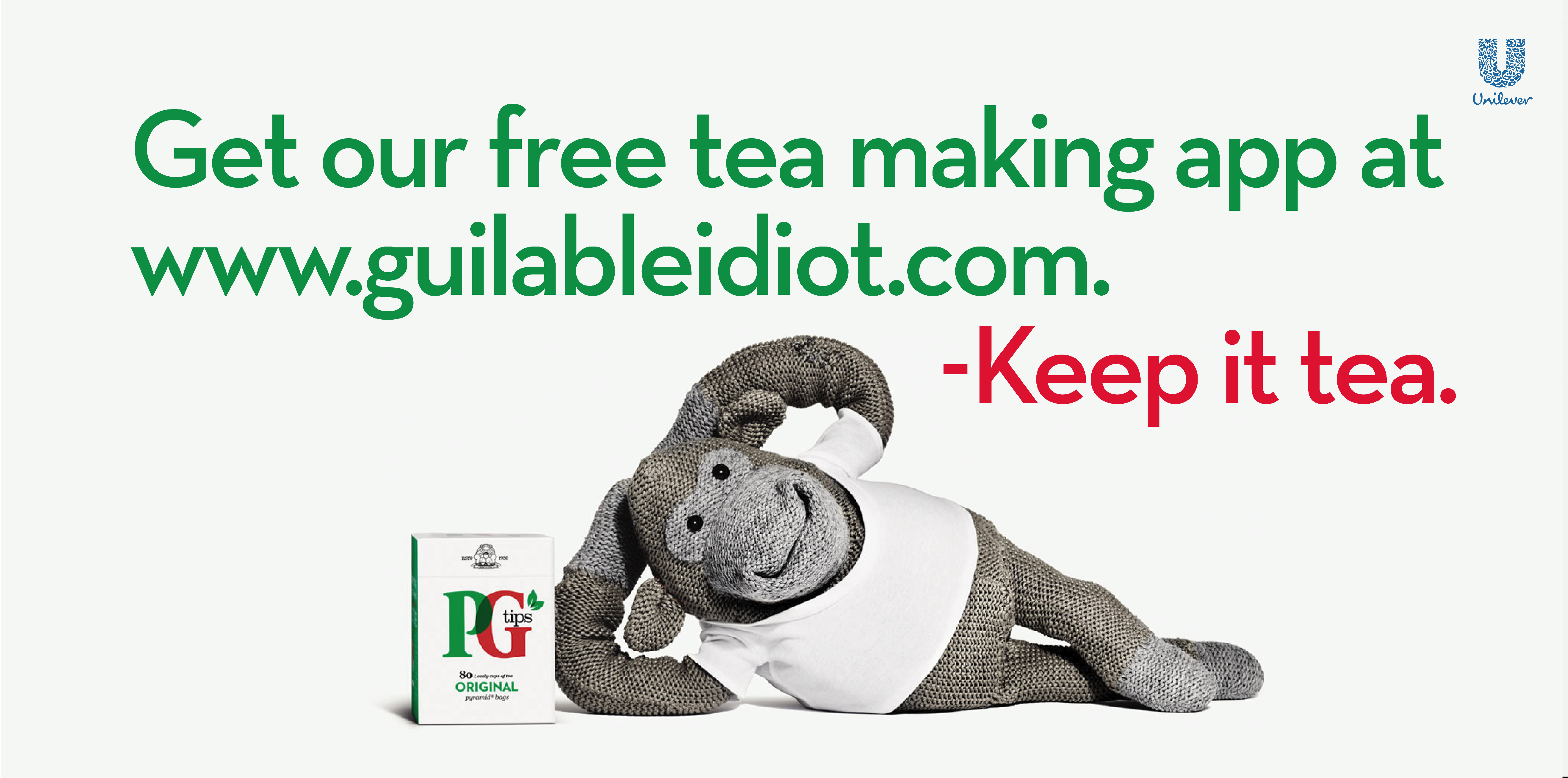 'Get Our' PG tips, Dave Dye, Mother-01