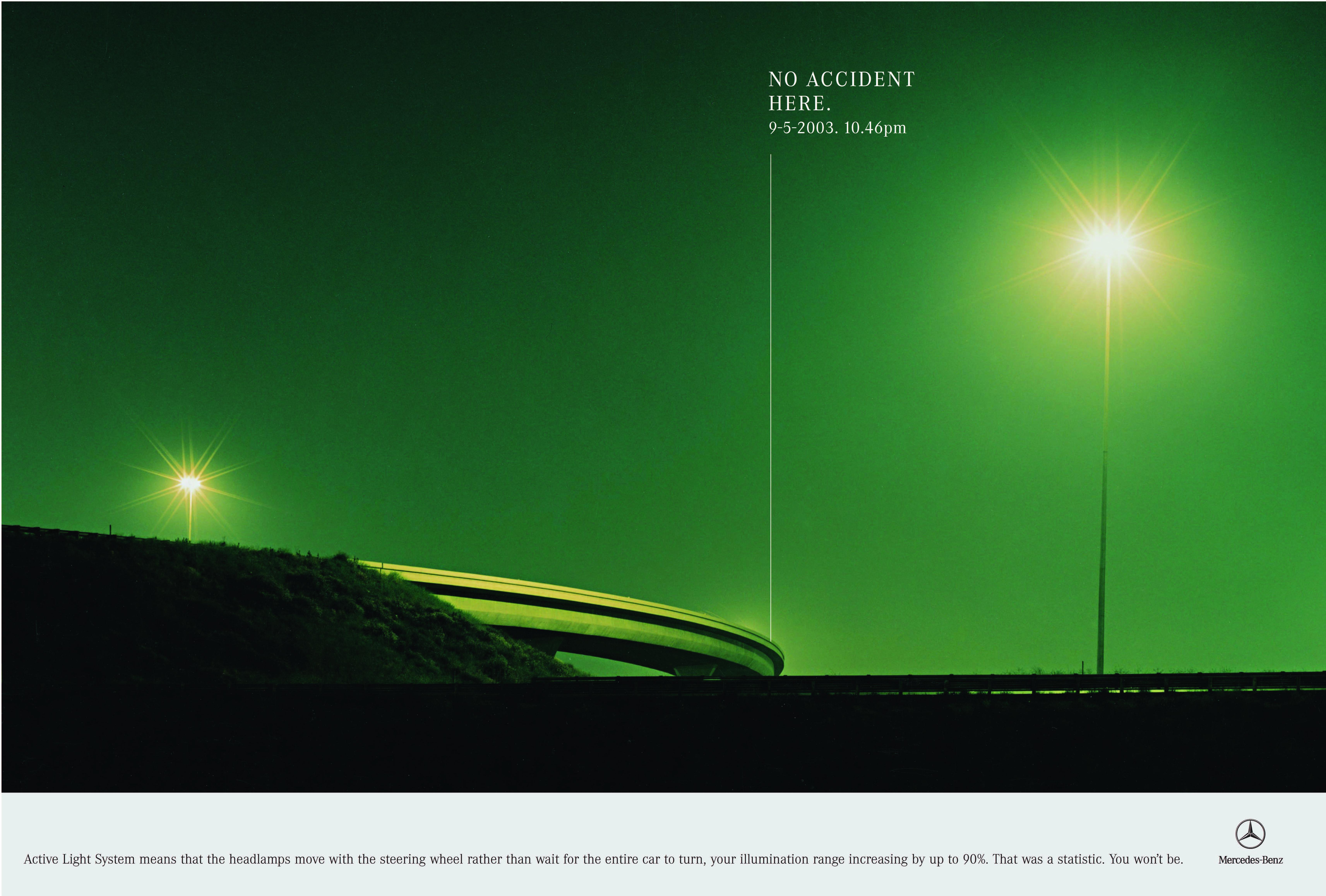 'Green Bridge' Mercedes-Benz, 'No Accident', CDD