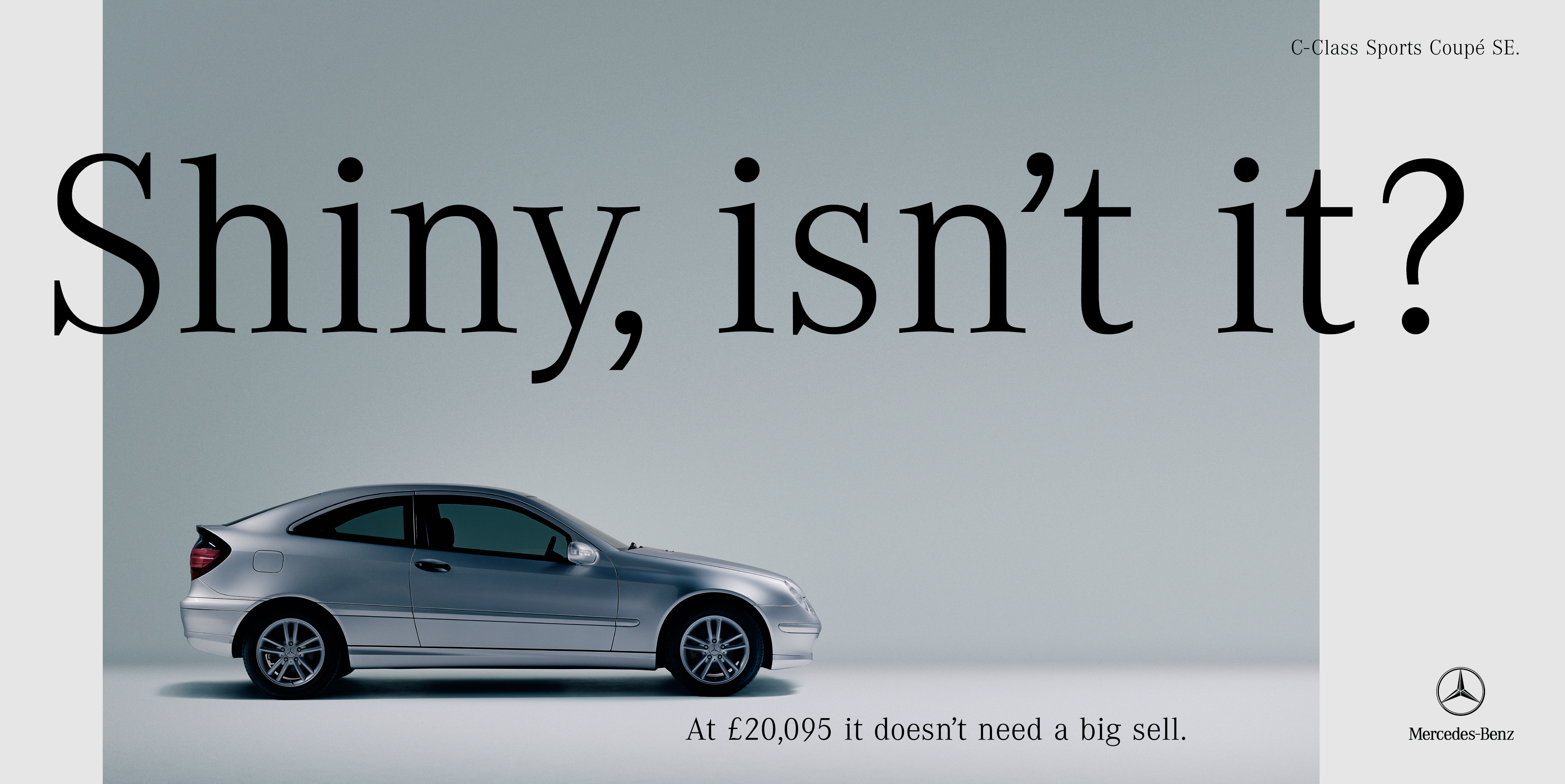'Shiny, Isn't It' Mercedes-Benz, C-Class Coupe, CDD, 48