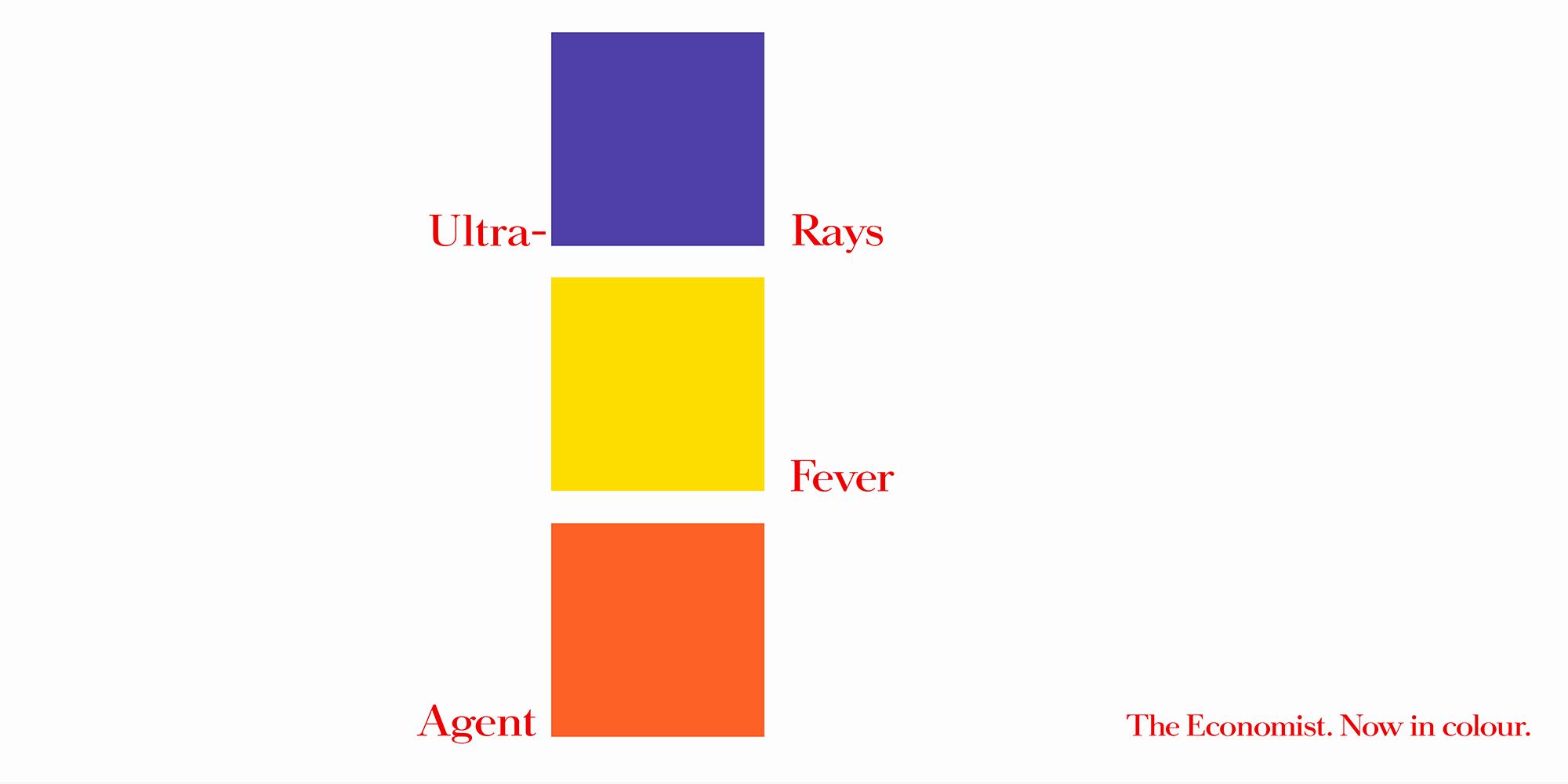 'Ultra-Violet' The Economist_Colour, Dave Dye, AMV_BBDO