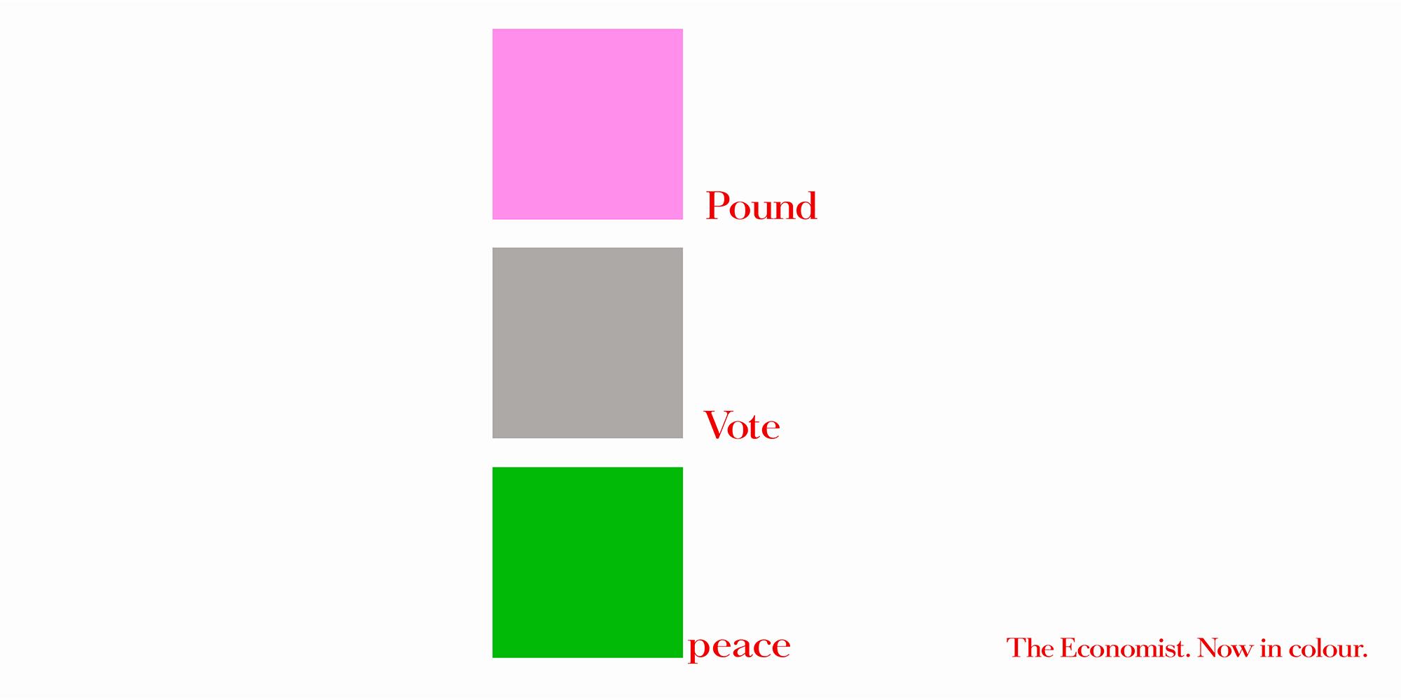 'Pink Pound' The Economist_Colour, Dave Dye, AMV_BBDO.