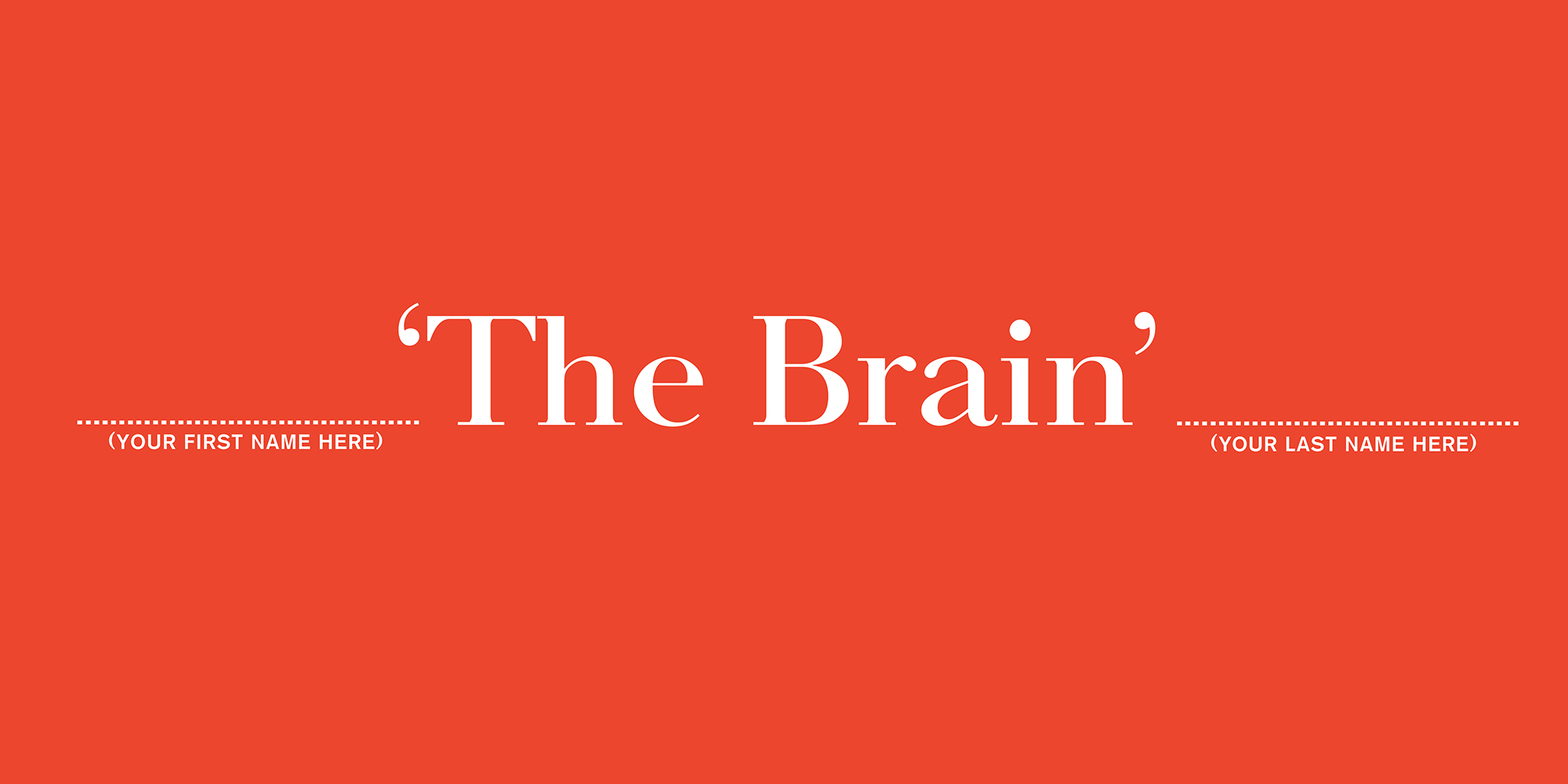 'The Brain' The Economist, Dave Dye, AMV_BBDO
