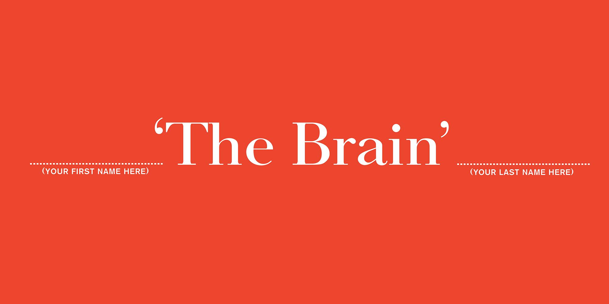 'The Brain' The Economist, Dave Dye, AMV_BBDO