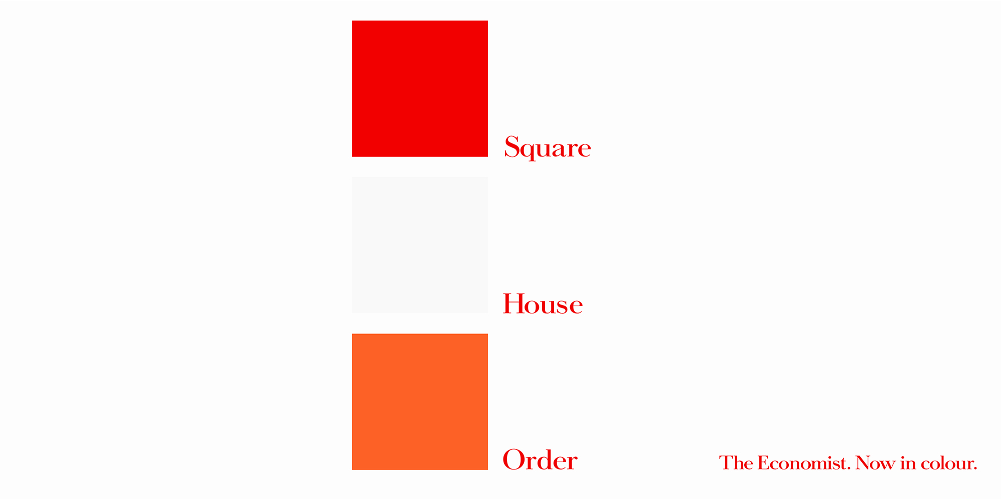 'Red Square' The Economist_Colour, Dave Dye, AMV_BBDO.