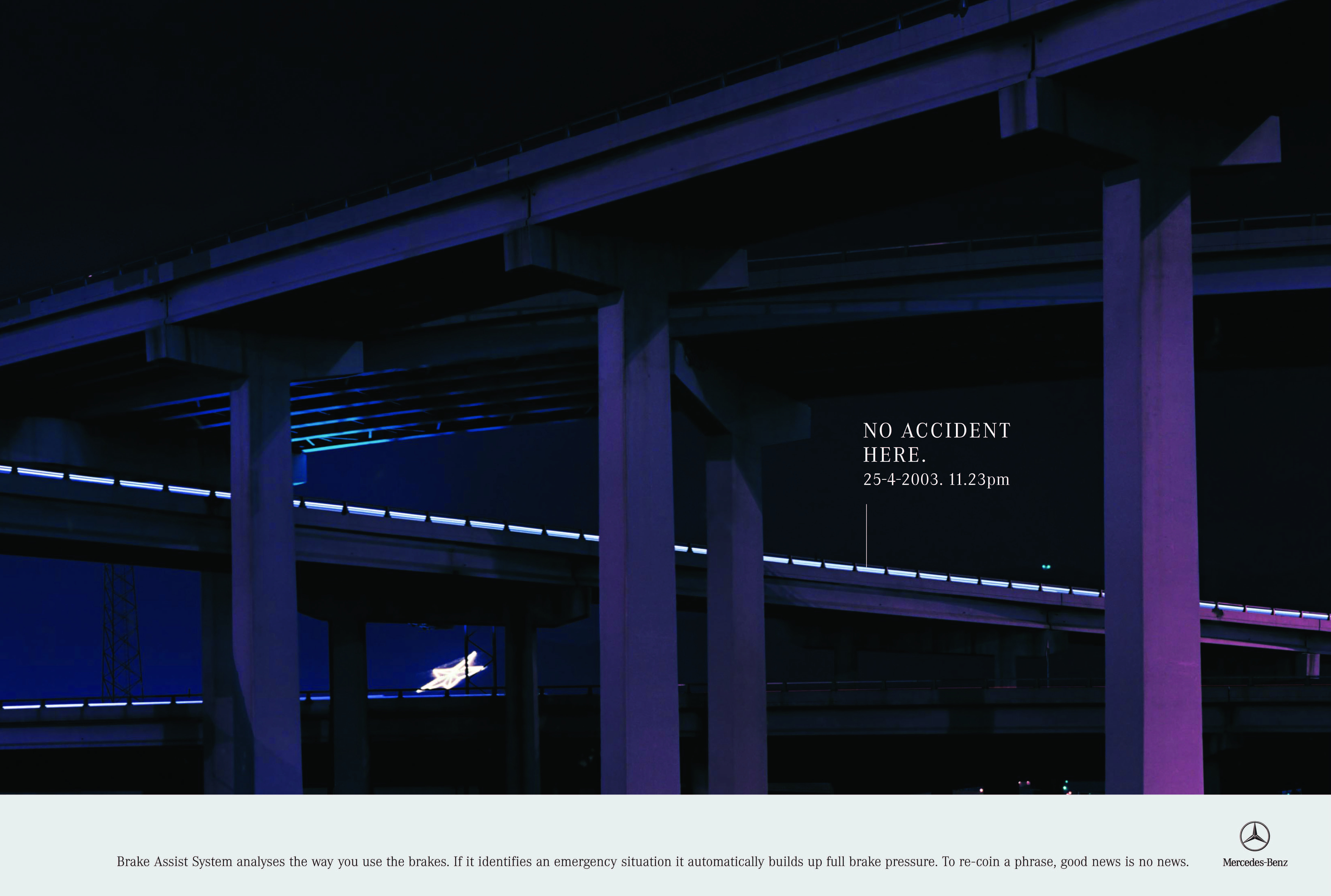 'Purple Bridge' Mercedes-Benz, 'No Accident', CDD