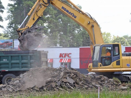 KFC constructing new restaurant to replace Whiteville location