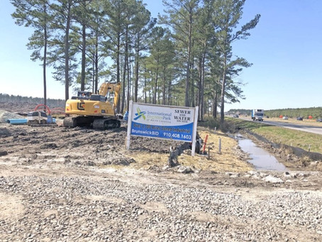 County government extending water lines; industrial park to get service
