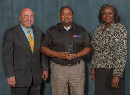 Dr. Dalton Dockery awarded Extension Leadership Award