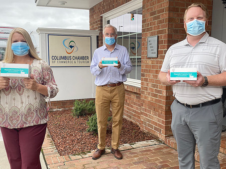2,500 masks distributed to Columbus County businesses