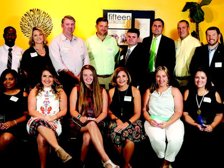 'fifteen under 40' brings accolades to young professionals