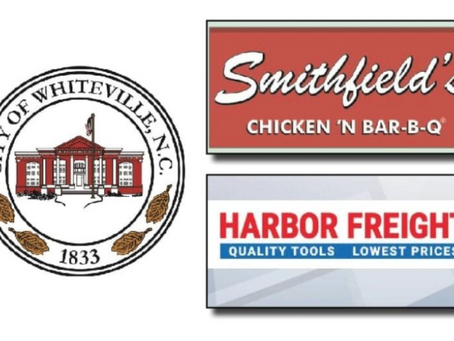 Smithfield's Bar-B-Q, Harbor Freight coming to Whiteville